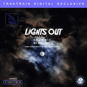 Lights Out (over 100 files) by Misc Inc. in this Traktrain Drum Kit