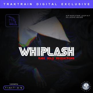 "Pure Gold Productions presents Traktrain Dark Trap Stem Loop Kit (Over 50 Loops) ""Whiplash"""