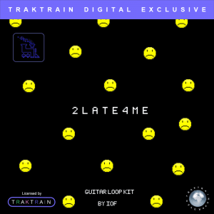 The 2Late4Me guitar loop kit is perfect for making emo trap beats.