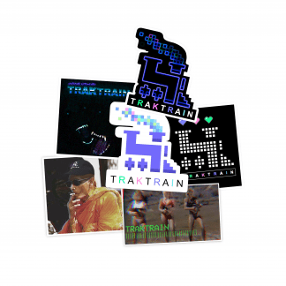 TRAKTRAIN presents Sticker Pack (6) - Free Shipping