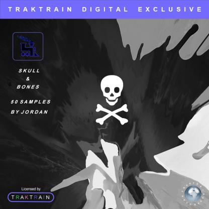 """Cover for """"Skull & Bones"""" Sample Pack (50 Samples) by Jordan"""