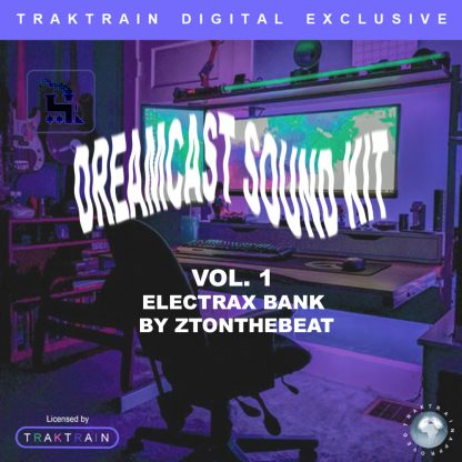 """Cover for Traktrain Preset Kit """"Dream Cast Vol. 1"""" (Tone2 ElectraX) by ZTOnTheBeat"""