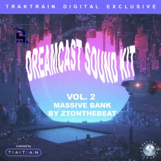 "Cover for Traktrain Preset Kit ""Dream Cast Vol. 2"" (Massive) by ZTOnTheBeat"
