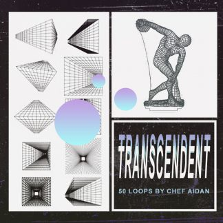"""Cover for Traktrain Loop Kit """"Transcendent"""" (50 Loops) by Chef Aidan"""