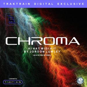 Traktrain Hi-Hat Midi Kit by Jordon Lumley – Chroma (50 Hi-Hat Loops)