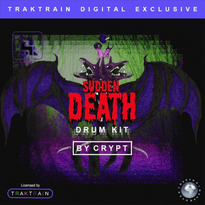 Crypt's Sudden Death Drum Kit at the TRAKTRAIN Store