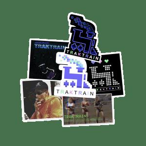 TRAKTRAIN presents Sticker Pack (6) - Free Shipping