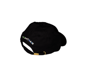 TRAKTRAIN | 6 Panel Black Hat (Free shipping in USA) cover