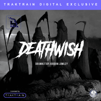 "Jordon Lumley presents ""Death Wish"" Ultimate Drum Kit"