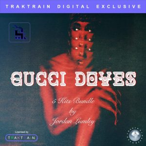 "Cover for Traktrain 5 Kits Bundle ""Gucci Doves"" (80+ MIDIs / 150+ Samples) by Jordan Lumley"