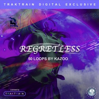 "Cover for Traktrain Loop Kit ""Regretless"" (50 Loops) by kazoo!"