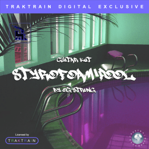 "Cover for Traktrain Guitar Kit ""Styrofoam Pool"" (170+ Guitar Loops) by OG String"