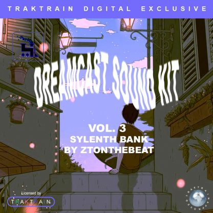 """Cover for Traktrain Preset Kit """"Dream Cast Vol. 3"""" (Sylenth1) by ZTOnTheBeat"""