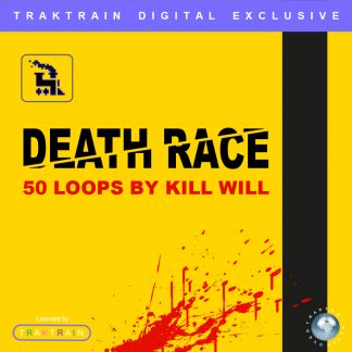 "Cover for Traktrain Guitar Kit ""Kill Will"" (50 Loops) by Kill Will"