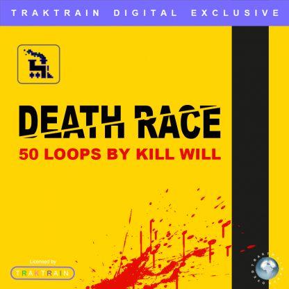 "Cover for Traktrain Guitar Kit ""Kill Will"" (50 Loops) by Kill Will"