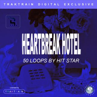 "Cover for Traktrain Loop Kit ""Heartbreak Hotel"" (50 Loops) by Hit Star Productions"