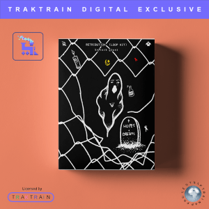 "Cover for Traktrain Guitar Kit ""Retribution"" (60 Loops) by Lord Ghost"