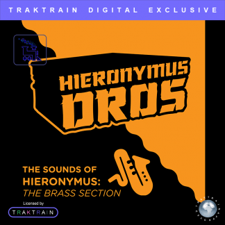 "Cover for Traktrain Sax Kit ""The Brass Section"" (110+ Samples + EXTRA) by Hieronymus Dros"