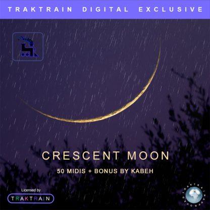 "Cover for Traktrain MIDI-Kit ""Crescent Moon"" (50 MIDIs + Bonus) by Kabeh"