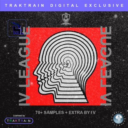 "Cover for Traktrain Guitar Kit ""IV League"" (70+ Samples + EXTRA) by Isaiah Vest"