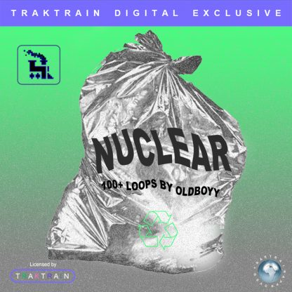 "Cover for Traktrain Guitar Kit ""Nuclear"" (100+ Loops) by oldboyy"