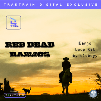 "Cover for ""Red Dead Banjos"" Banjo Loop Kit (60+ Loops) by oldboyy"