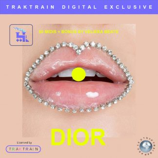 "Cover for Traktrain MIDI-Kit ""Dior"" (50 MIDIs + BONUS) by Veliera Beats"