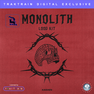 "Cover for Traktrain Loop Kit ""Monolith"" (50 Samples) by KAISHEN"