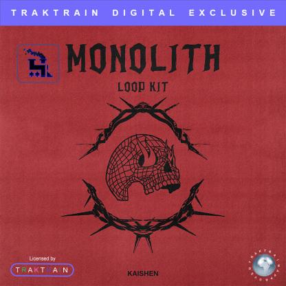 "Cover for Traktrain Loop Kit ""Monolith"" (50 Samples) by KAISHEN"