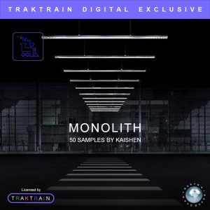 "Cover for Traktrain Sample Pack ""Monolith"" (50 Samples) by KAISHEN"