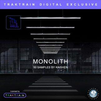"""Cover for Traktrain Sample Pack """"Monolith"""" (50 Samples) by KAISHEN"""