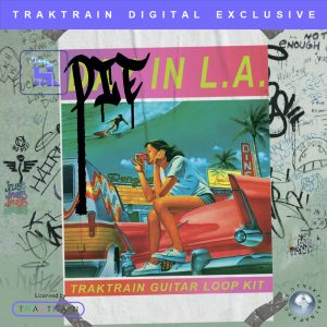 "Cover for ""Die in L.A."" Traktrain Guitar Loop Kit"