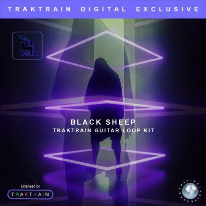 """Cove for """"Black sheep"""" Traktrain Guitar Loop Kit (100 Loops)"""