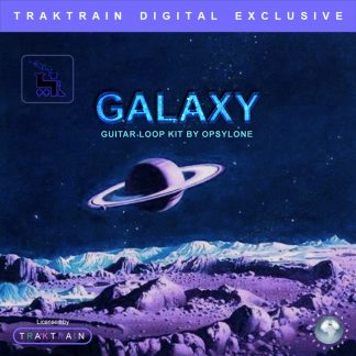 "Cover for ""Galaxy"" Guitar Loop Kit (100 Loops + BONUS) by Opsylone"
