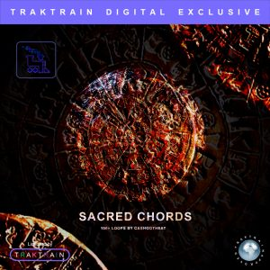 "Cover for ""Sacred Chords Vol. 1"" Guitar Loop Kit (110+ Loops) by CashGotHeat"
