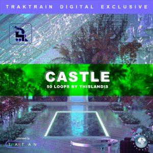 """Cover for Traktrain Guitar Loop Kit """"Castle"""" (50 Loops) by thislandis"""