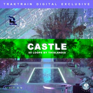 "Cover for Traktrain Guitar Loop Kit ""Castle"" (50 Loops) by thislandis"