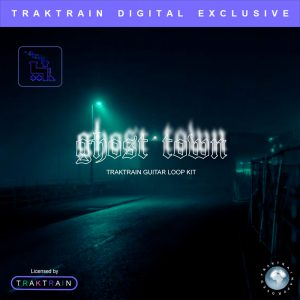 Cover for «Ghost Town» Traktrain Guitar Loop Kit