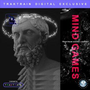 """Cover for """"Mind Games"""" Traktrain Guitar Loop Kit"""