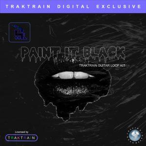 """Cover for """"Paint It Black"""" Traktrain Guitar Loop Kit"""