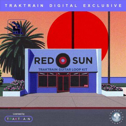 Cover for «Red Sun» Traktrain Guitar Loop Kit