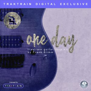 """Cover for """"One Day"""" Guitar Loop Kit (50 Loops) by Frank Slimm"""