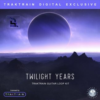 Cover for «Twilight Years» Traktrain Guitar Loop Kit