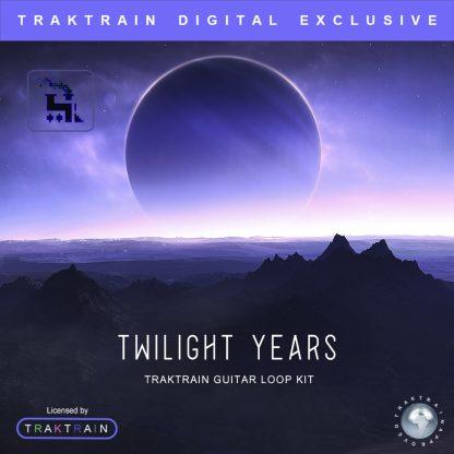 Cover for «Twilight Years» Traktrain Guitar Loop Kit
