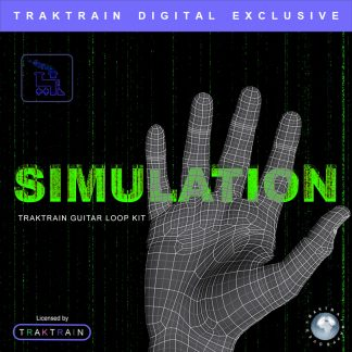Cover for «Simulation» Traktrain Guitar Loop Kit