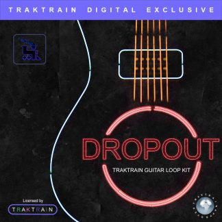 Cover for «Dropout» Traktrain Guitar Loop Kit