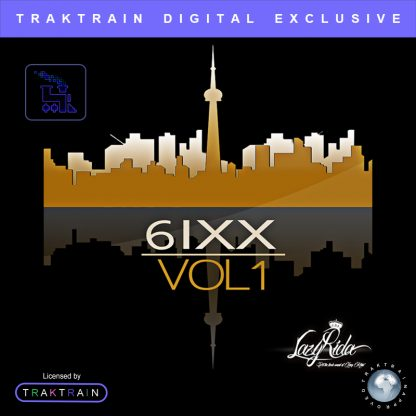 Cover for 6ixx Vol. 1 Sample Pack (85+ Loops + 45+ One-Shots) by Lazy Rida Beats