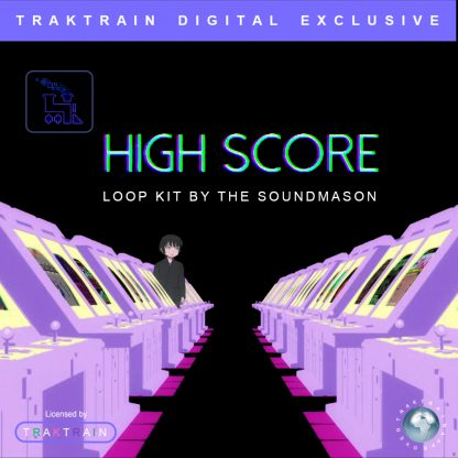 "Cover for ""High Score"" Loop Kit by The Soundmason Music"