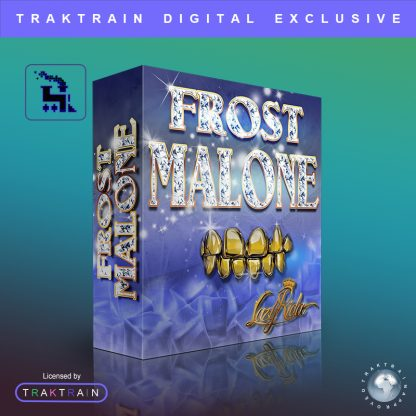 Cover for Frost Malone Sample Pack (380 Loops) by Lazy Rida Beats