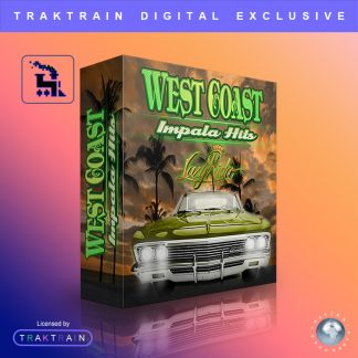 West Coast Impala Hits Sample Pack (377 Samples) by Lazy Rida Beats Cover